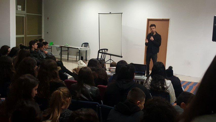 הרצאה לבני נוער ישראל אטיאס